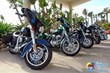 motorcycles at Daytona Bahama House Hotel