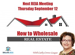 Dallas Real Estate Investment Association September Meeting