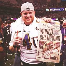 Morgan Cox NFL Jersey