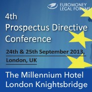Prospectus Directive Conference, 2013