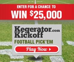 Kegerator.com $25,000 Football Pick'em