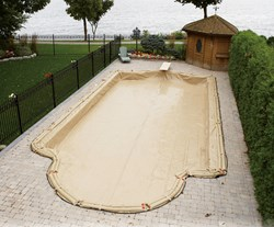 In-Ground Pool Winter Cover