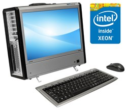 portable workstation with Intel Xeon processors