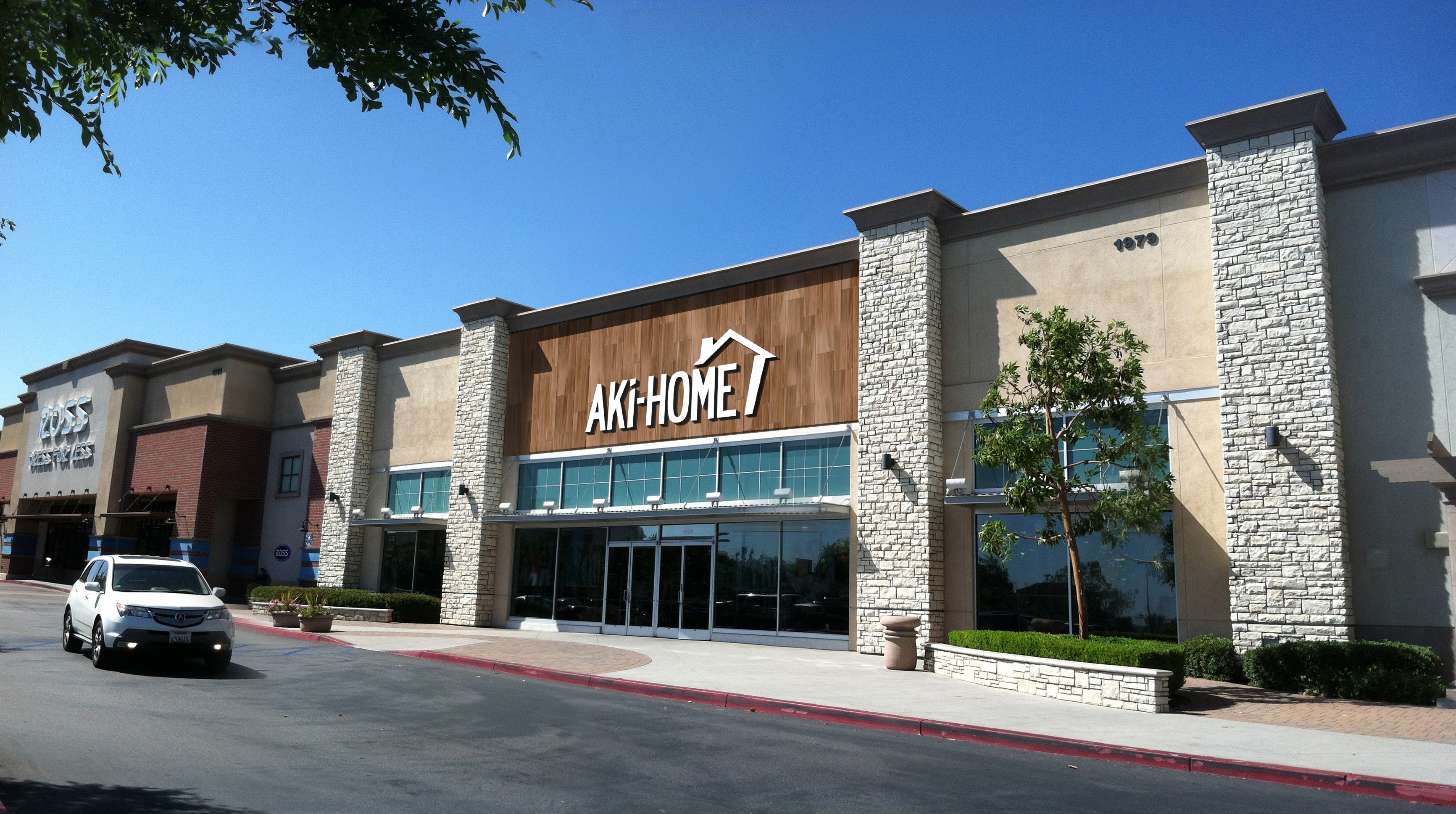 Artist trendering of Aki Home at Amerige Hieghts in Fullerton  Ca. Nitori Expands Furniture Chain from Japan to US with Aki Home