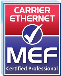 MEF Carrier Ethernet Certified Professional