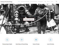 History of Scuba Diving: Website