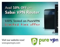 Sabai VPN Router for PureVPN