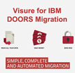 Visure Solutions Starts IBM Rational DOORS Replacement Program