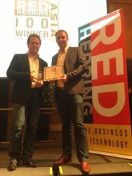 Tigerspike, Red Herring Top 100 Award