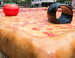 The new Pizza Playground at the National Zoo was created by PLAYTIME, LLC.