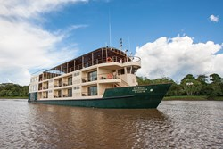 IE's new Amazon cruise vessel, La Estrella Amazonica