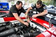 Tuning the Lamborghini Beverly Hills / GMG cars before the race