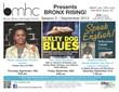 September Bronx Rising Flyer