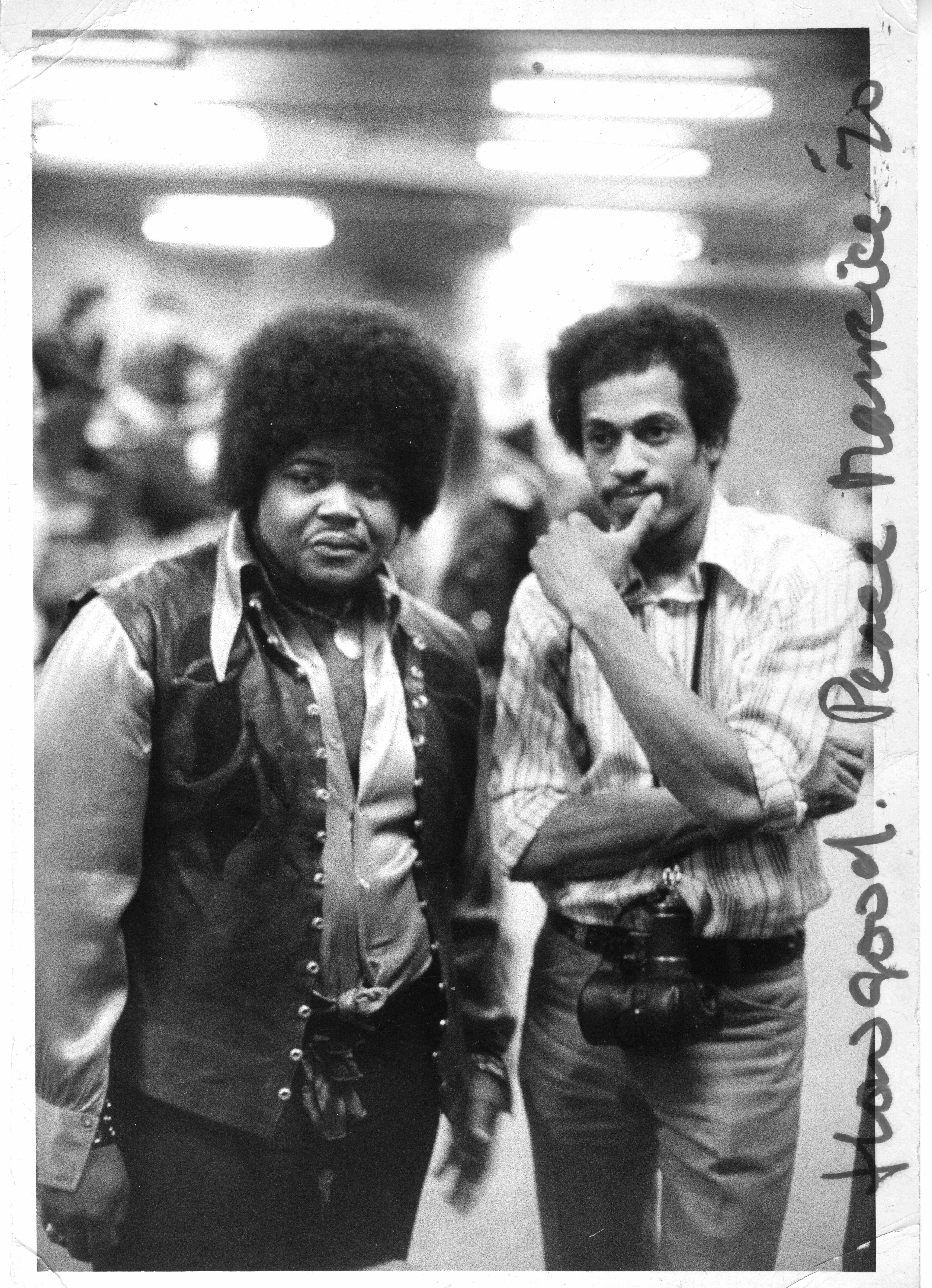 Buddy Miles Drummer With Drummer Buddy Miles