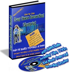 how to record songs at home how easy home recording blueprint