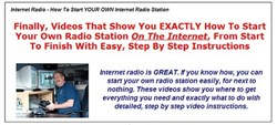 how to set up an internet radio station how internet radio how to do it