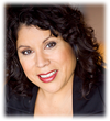 Comedienne Debi Gutierrez performs at Living Free Saturday, October 05, 2013