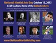 National Martial Arts Day Instructors