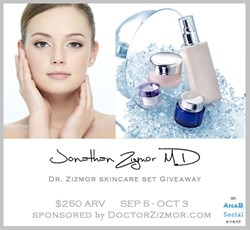 Dr Zizmor Skincare Giveaway