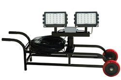 300 Watt Portable LED Work Area Light Cart Released by Larson Electronics