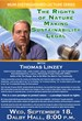 MUM's Sustainable Living Dept Hosts Activist Thomas Linzey who...