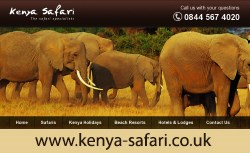 Kenya Safari Website