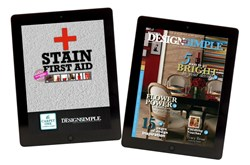 Stain First Aid and Beautiful Design Made Simple