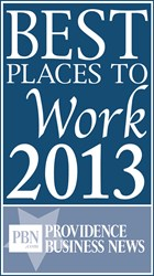Dryvit Wins Award - One of the Best Places to Work in RI 2013.