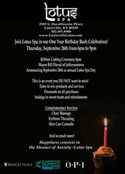Louisville Spa Celerbates One Year Anniversary