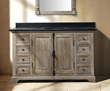 "James Martin Solid Wood 56"" Genna Grey Single Bathroom Vanity 238-103-5311"