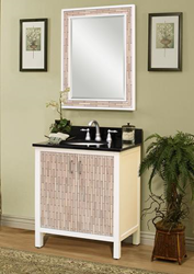 "sagehill designs CP2421 Cape Point 24"" Wood Vanity Cabinet with Adjustable Shelf"