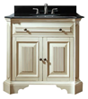 Avanity Kingswood 36 in. Vanity Only in Distressed White finish KINGSWOOD-V36-DW