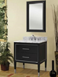 "sagehill designs RW3021D Richview 30"" Wall Mount Wood Vanity Cabinet with Two Drawers"
