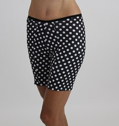 Polka Dot Shortlette Shorts to Wear Under Dresses for Women