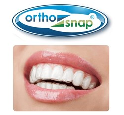 It's NEW, It's HERE. It's BETTER than Invisalign. It's ORTHOSNAP. You don't need braces to create a beautiful smile.You need ORTHOSNAP. More - it's cheaper than traditional braces or Invisalign. Even more - it's superior to Invisalign and as effective as