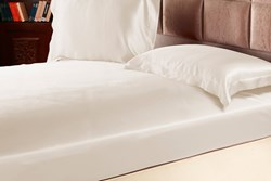 silk fitted bed sheets