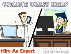 We started Online Class Help to solve a common problem: you're stuck taking a class that doesn't stimulate you, consumes way too much of your time, and has absolutely nothing to do with your major. Our solution? Real experts helping you get A's in your cl