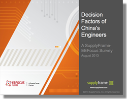 Decision Factors of China's Engineers 2013