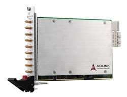 ADLINK's PXIe-9529 PXI Express High-Density Dynamic Signal Acquisition Module