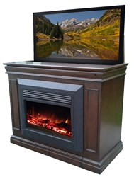 Touchstone Conestoga TV Lift with Electric Fireplace