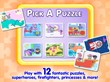 Choose from 12 Wubbtastic Puzzles