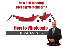 Houston Real Estate Investment Club Speaker Will Denker