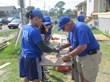 New Orleans Area Habitat for Humanity Welcomes Volunteers from East...