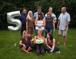 The Rambutan bunch celebrate their 5 year anniversary