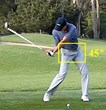 Measuring hip speed at Cast Point