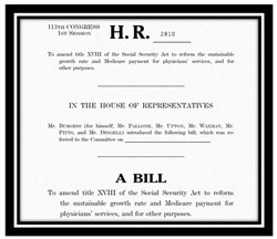U.S. House of Representatives bill 2810