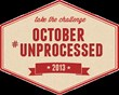 Eating Rules Blog Launches 4th Annual October Unprocessed Food Challenge