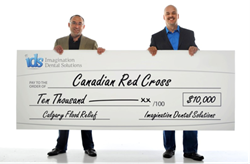 IDS donates to Red Cross