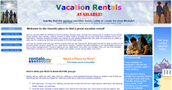 Vacation Rentals Available Screenshot