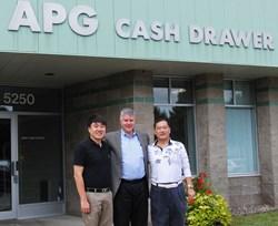 Gordon Yang, Mark Olson, and Arthur Guan